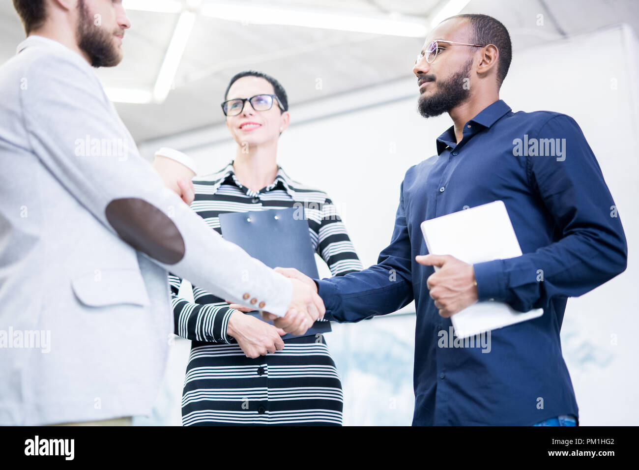 People Greeting Each Other Stock Photo 218853266 Alamy
