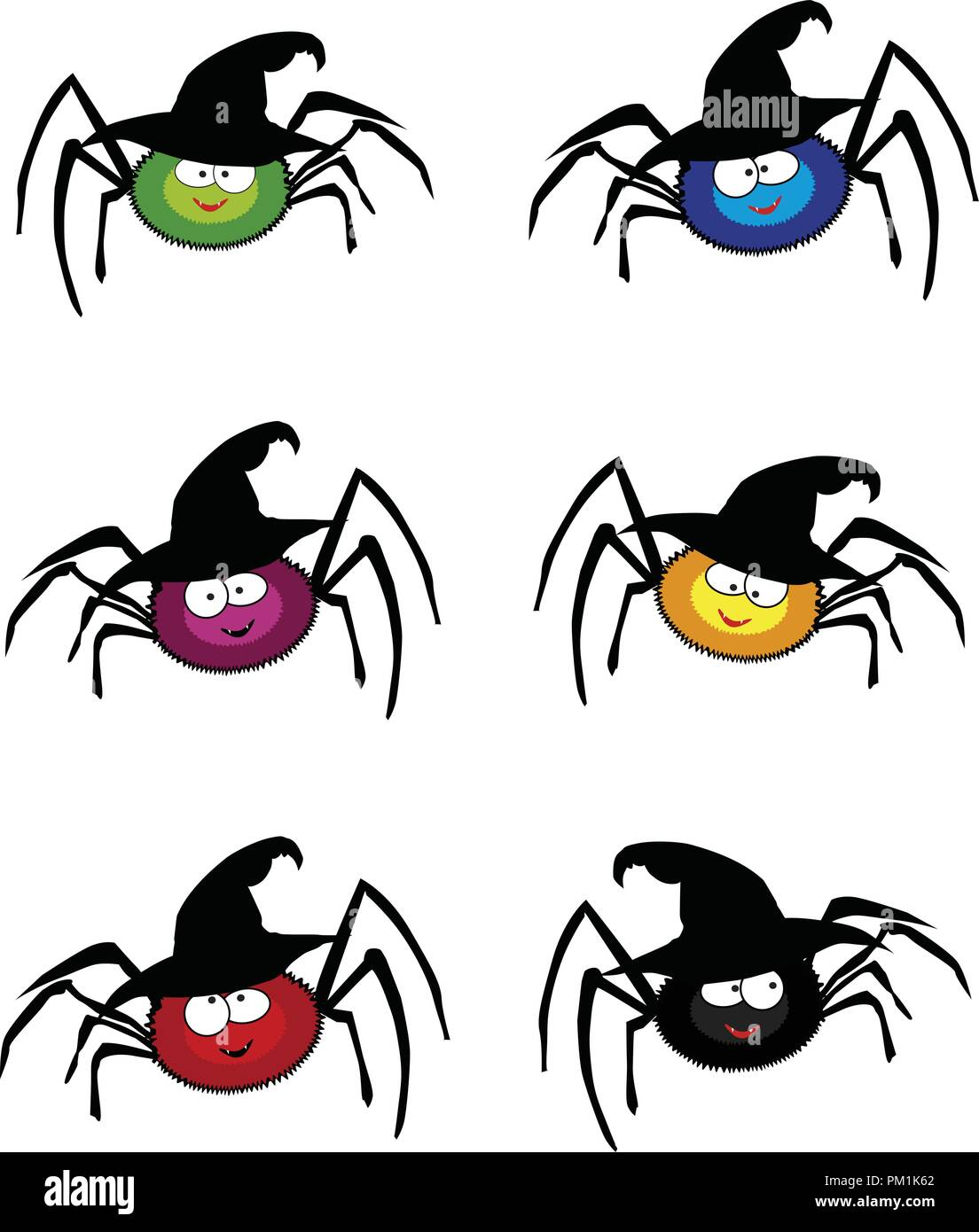 Cartoon Spider Cut Out Stock Images & Pictures - Alamy
