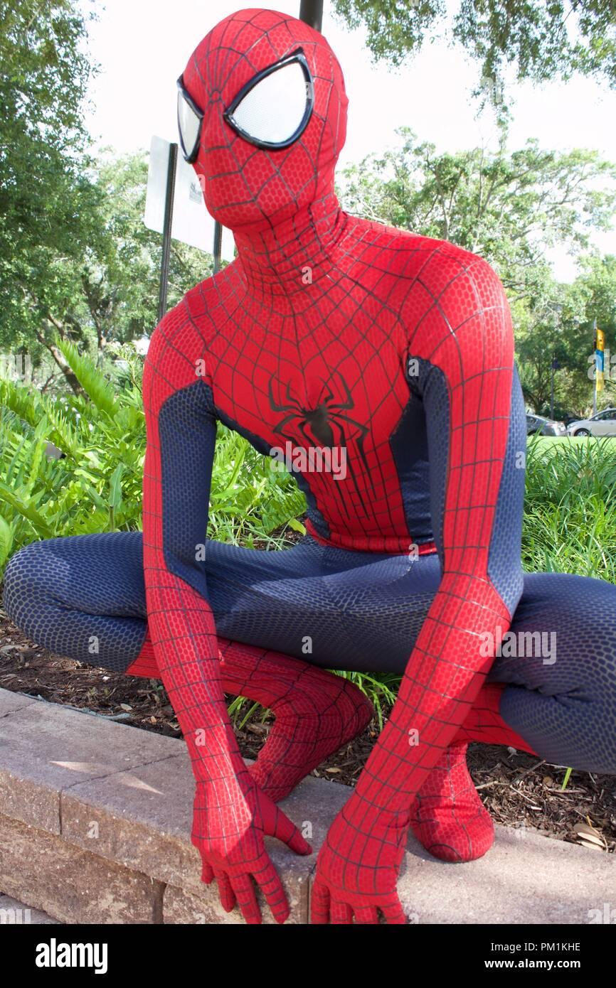 Spiderman pics Stock Photo