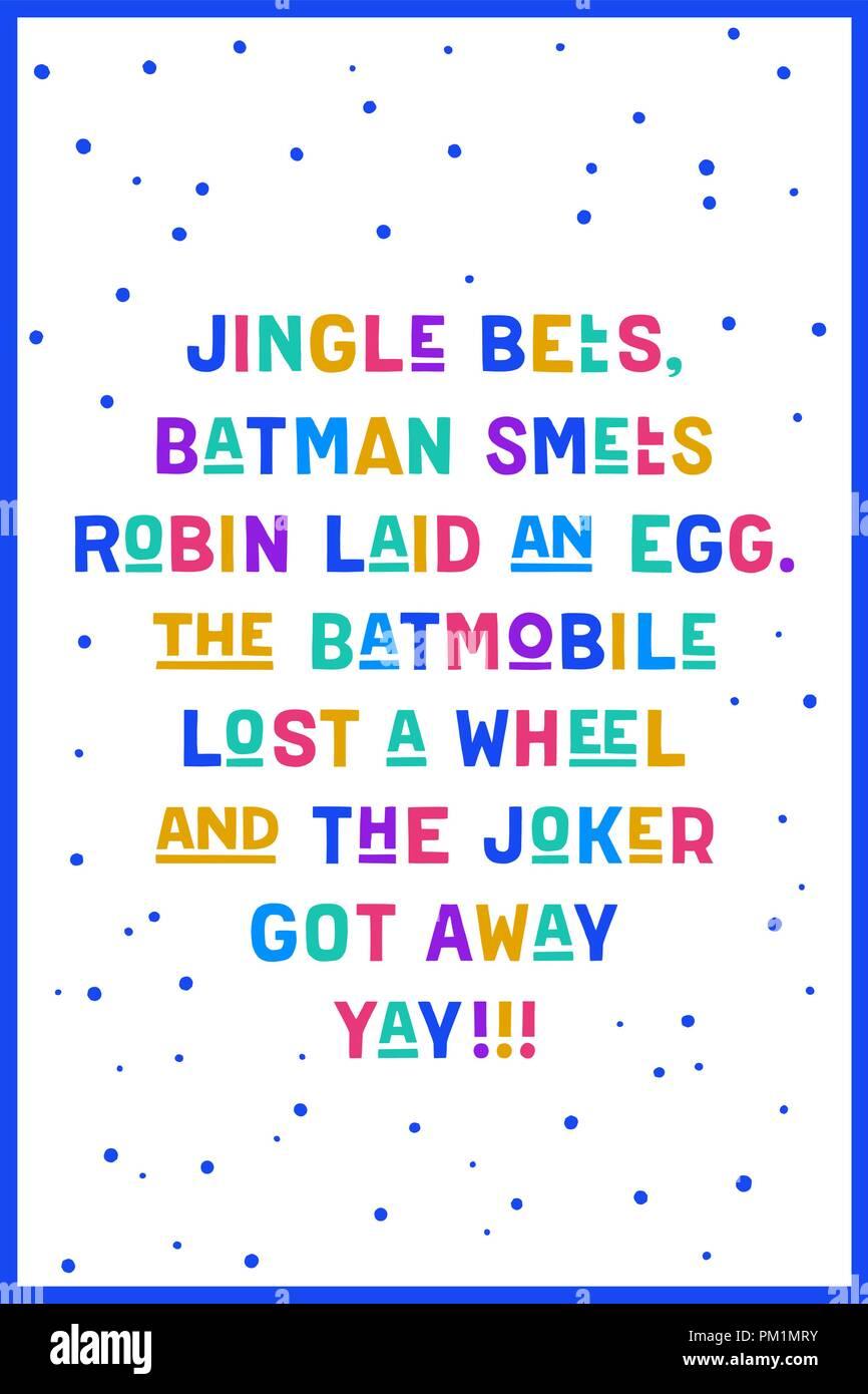 Jingle bells. Text of song Jingle bells Stock Vector Art ...