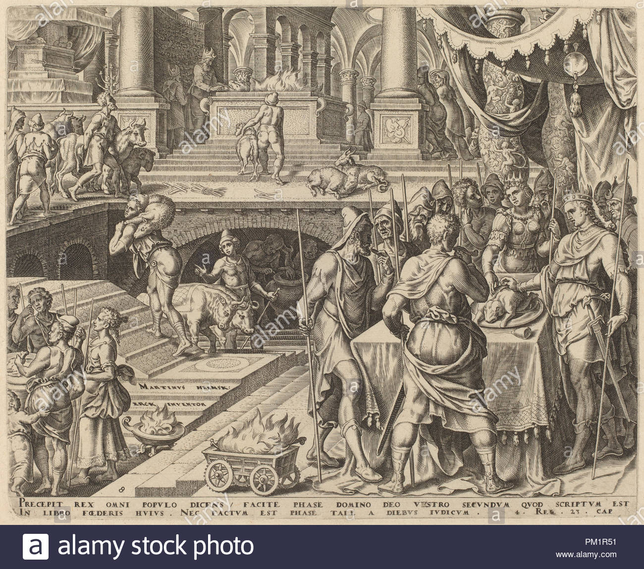 Dated: 1569. Medium: engraving. Museum: National Gallery of Art, Washington  DC. Author: Philip Galle.