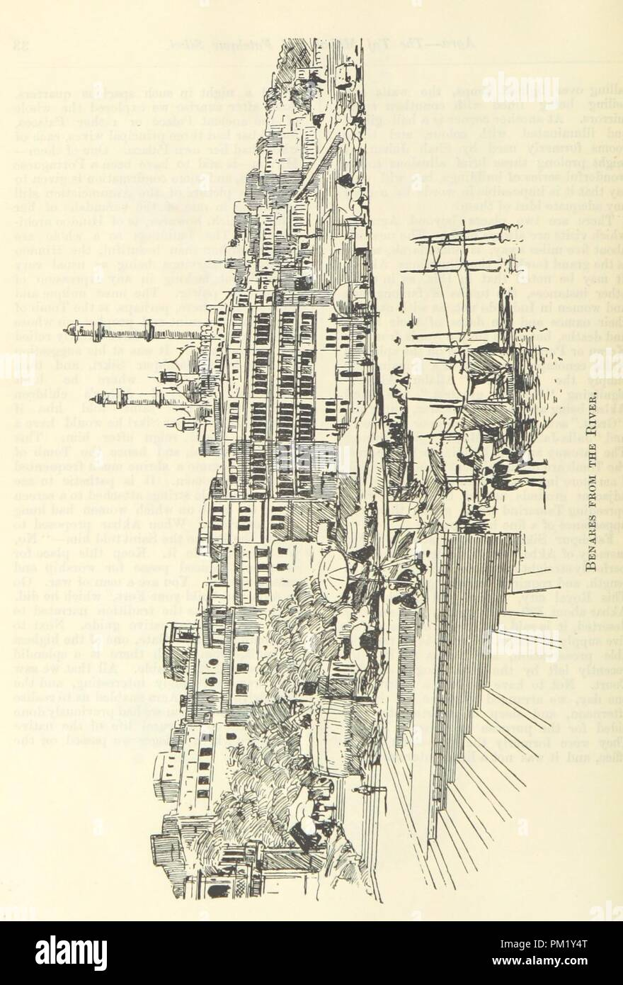 """Image  from page 42 of 'Letters from India and Ceylon, including the Manchester of India, the Indian Dundee, and Calcutta jute mills . 1895-96. Reprinted from the """"Dundee Advertiser.""""' . - Stock Image"""