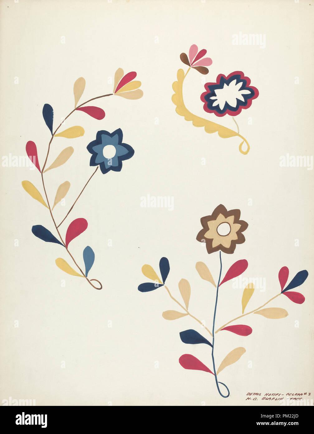 Design from Proposed Portfolio  Dated: 1935/1942  Dimensions