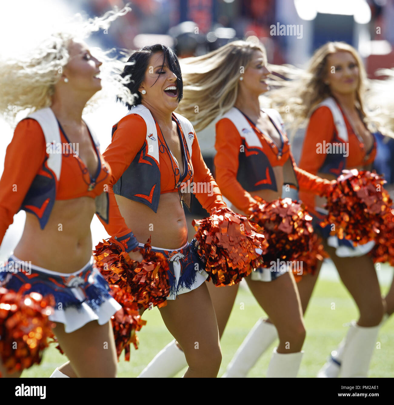 San Diego Chargers Cheerleaders Photos: Denver Broncos Cheerleaders Stock Photos & Denver Broncos