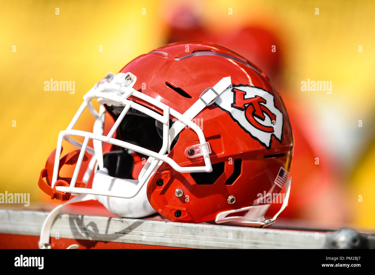 Kansas City Chiefs Helmet High Resolution Stock Photography And Images Alamy
