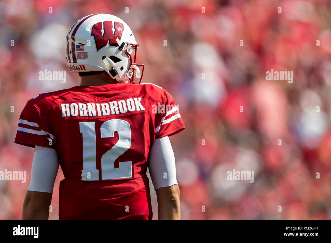 Alex Hornibrook Wisconsin Badgers Football Jersey Red