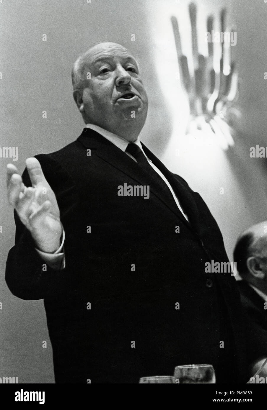 Alfred Hitchcock, 1966.   File Reference # 1154_003THA © JRC /The Hollywood Archive - All Rights Reserved - Stock Image