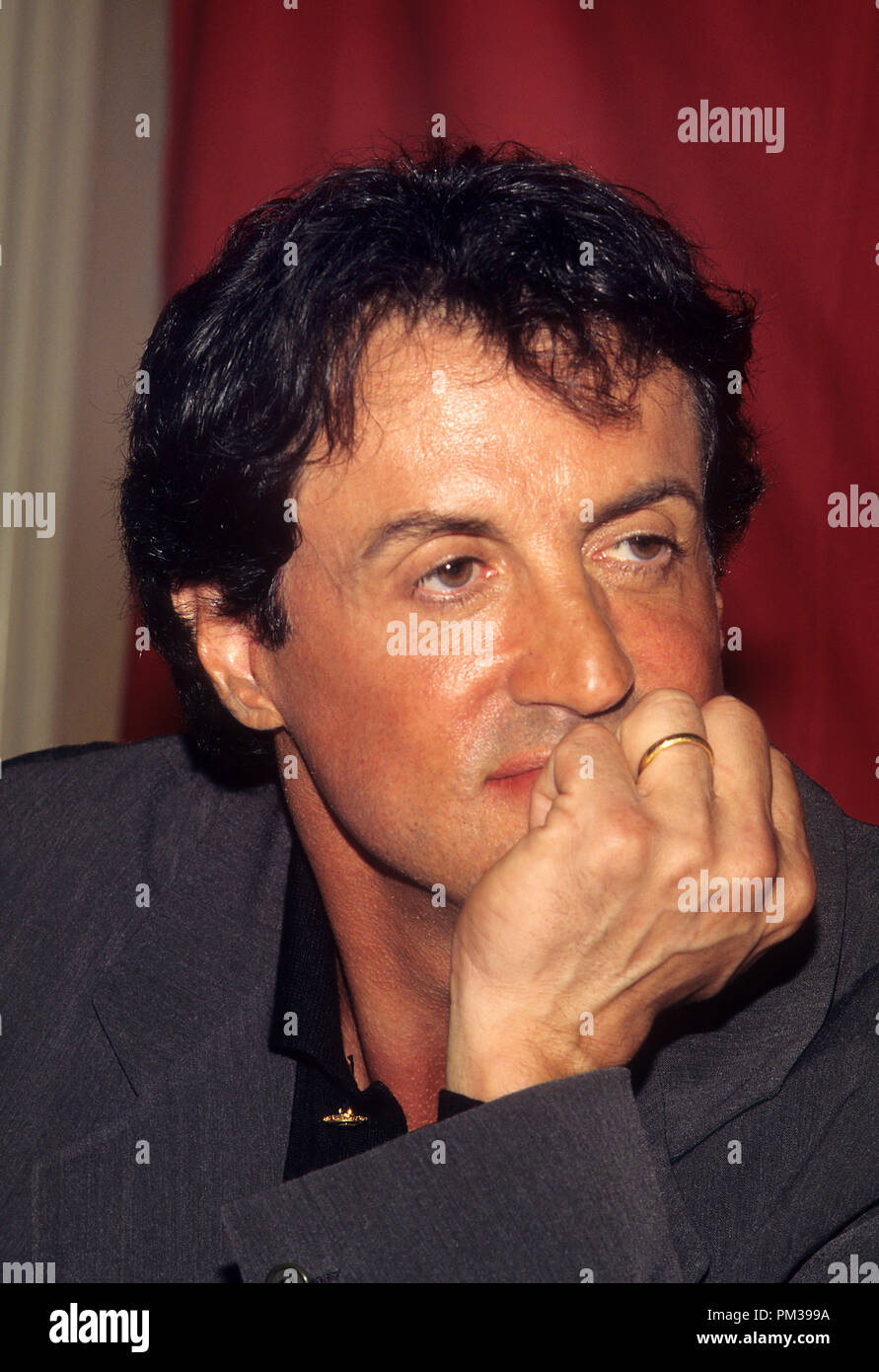 Sylvester Stallone, August 1997.  File Reference # 1282_004JRC - Stock Image