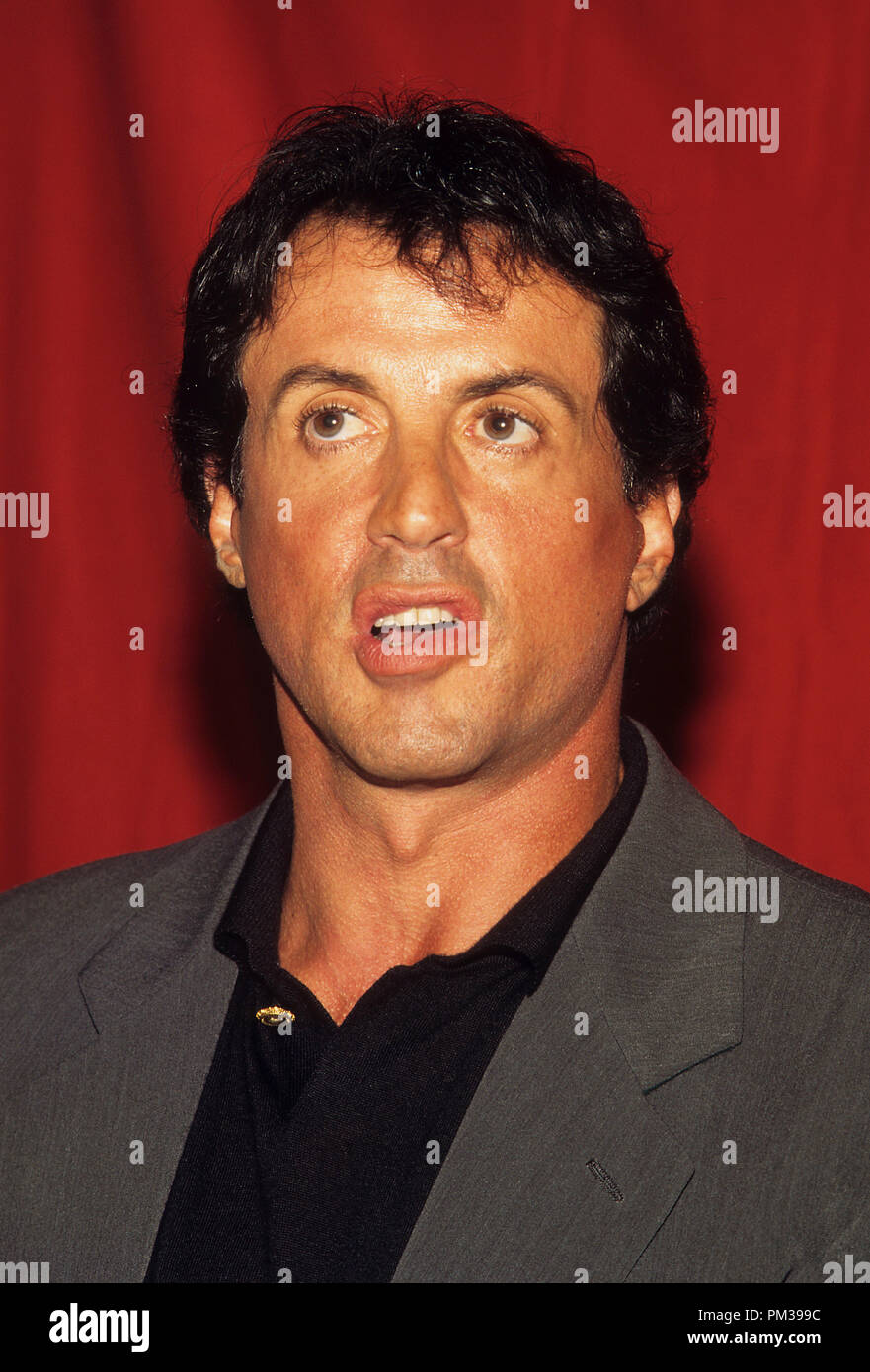Sylvester Stallone, August 1997.  File Reference # 1282_005JRC - Stock Image