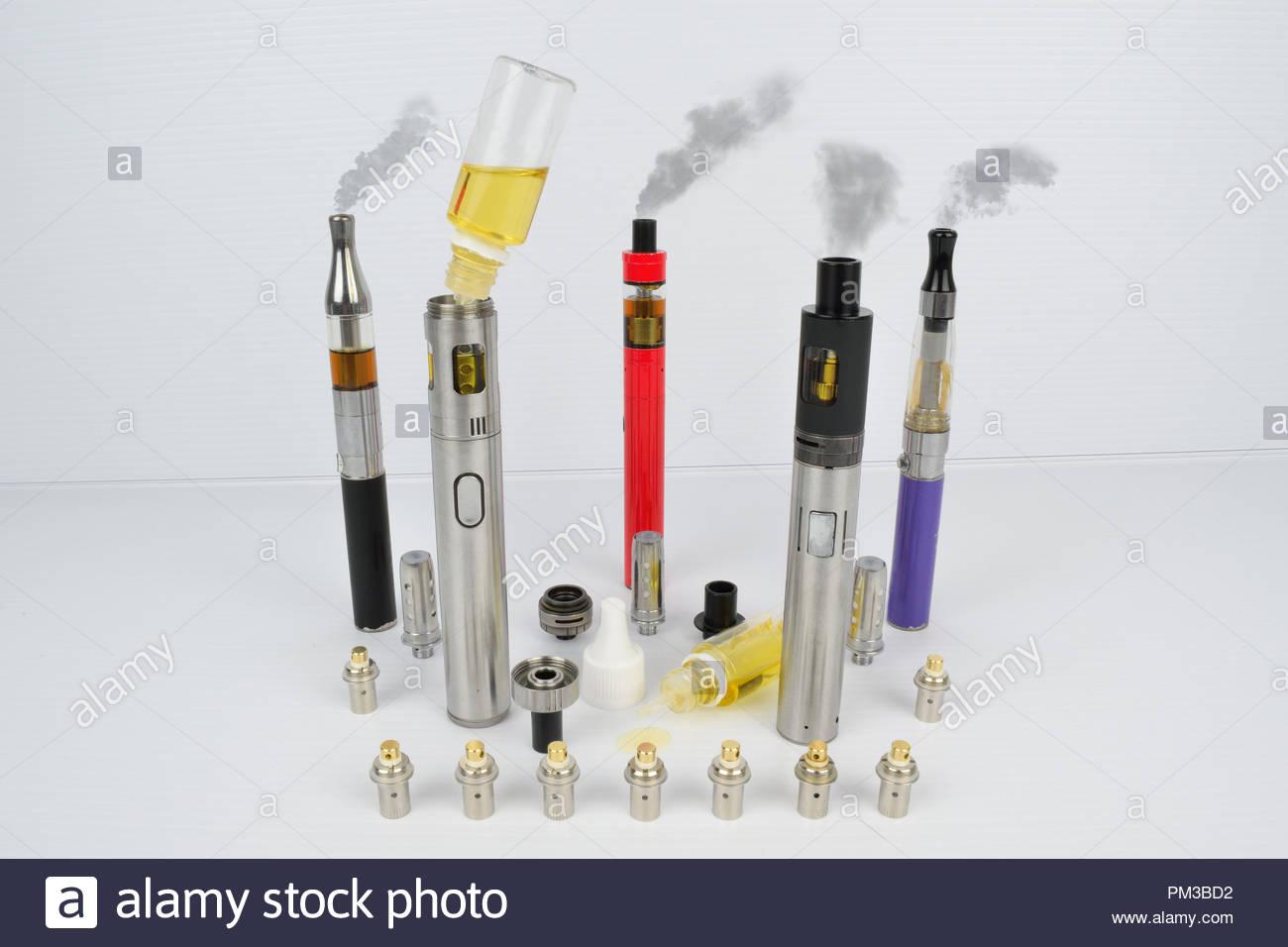 E-Cig Vape Pen Revolution Recruitment Agency - Stock Image