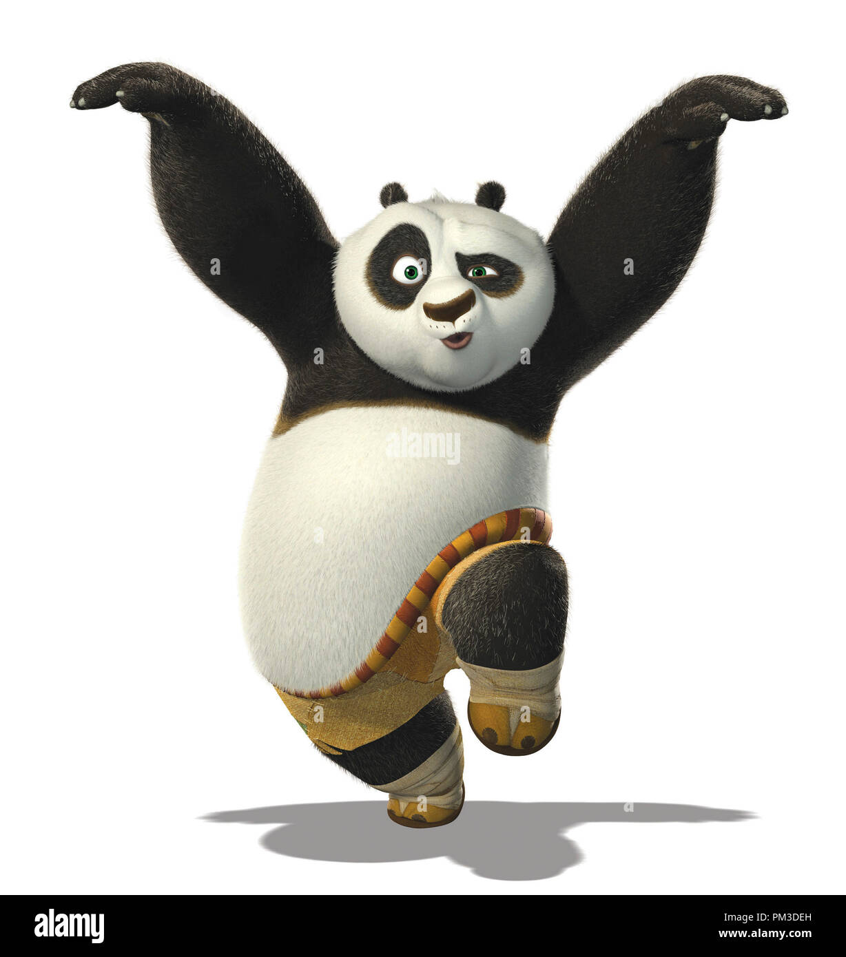'Kung Fu Panda' Po © 2008 Dream Works ** J.C.C. - Stock Image
