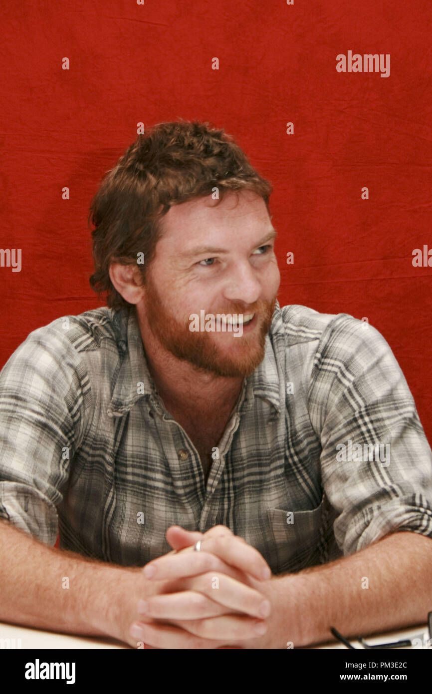 Sam Worthington 'The Debt' Portrait Session, September 14, 2010.  Reproduction by American tabloids is absolutely forbidden. File Reference # 30488_028JRC  For Editorial Use Only -  All Rights Reserved - Stock Image