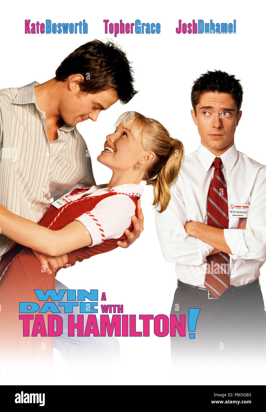 Poster Art from 'Win a Date with Tad Hamilton' Poster Kate Bosworth © 2004 Dreamworks File Reference # 307351004THA  For Editorial Use Only -  All Rights Reserved - Stock Image