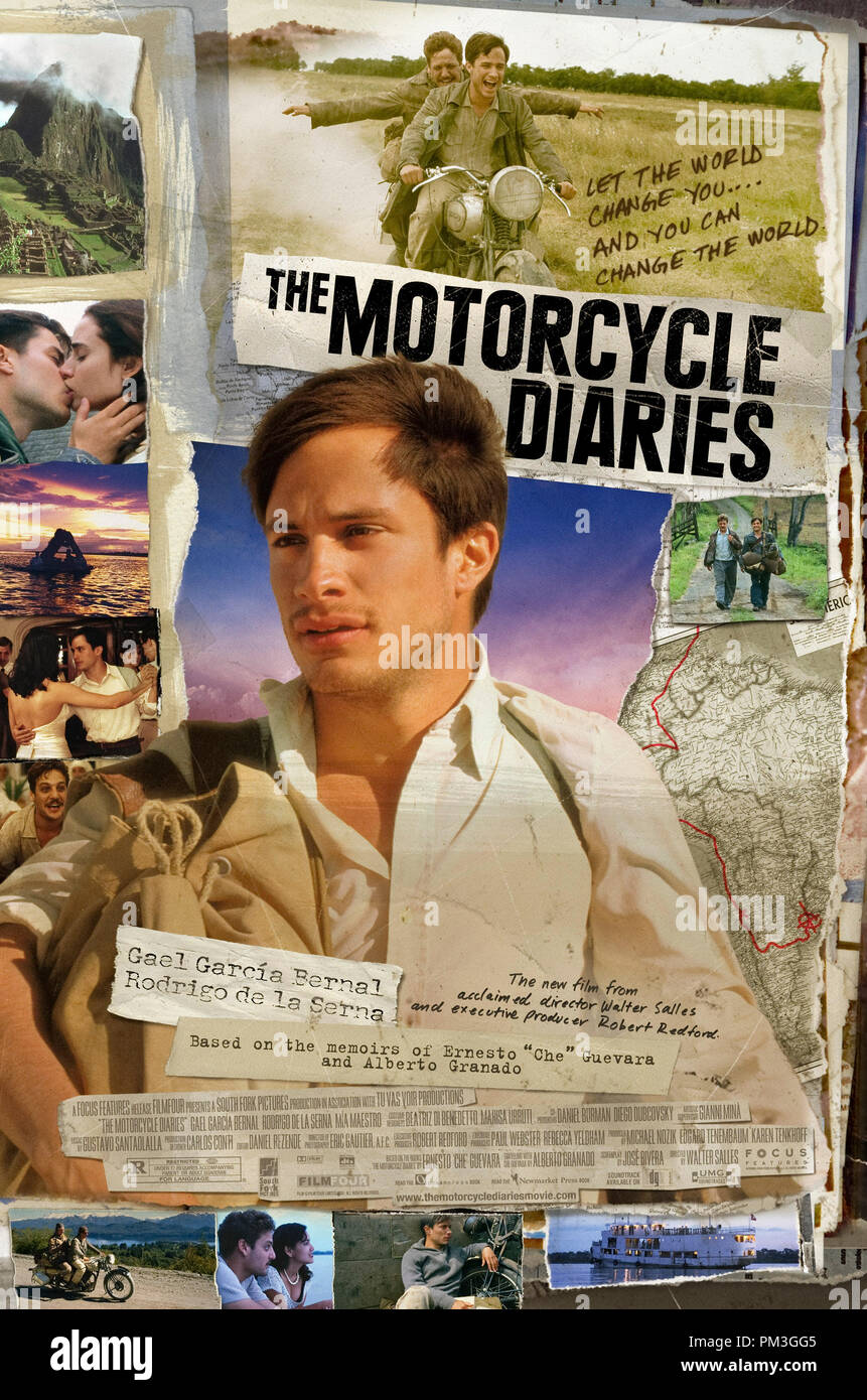 Poster Art from 'The Motorcycle Diaries' Poster © 2004 Focus Features File Reference # 307351123THA  For Editorial Use Only -  All Rights Reserved - Stock Image