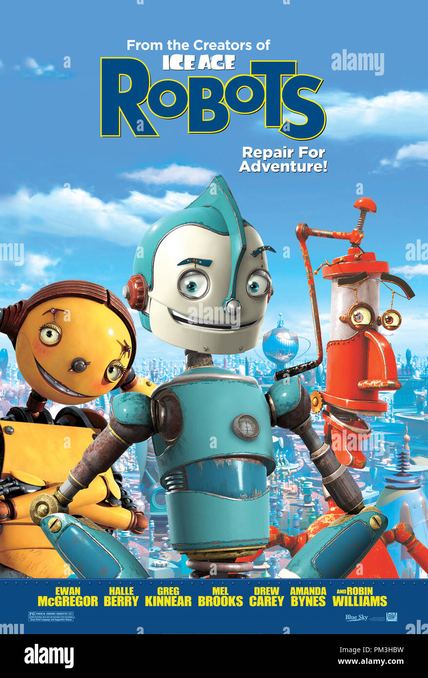 Poster Art from 'Robots' Poster © 2005 20th Century Fox  File Reference # 30736045THA  For Editorial Use Only -  All Rights Reserved - Stock Image