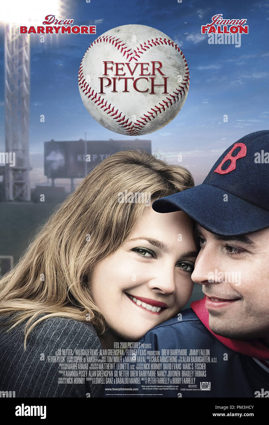 Poster Art from 'Fever Pitch' Poster © 2005 20th Century Fox   File Reference # 30736074THA  For Editorial Use Only -  All Rights Reserved - Stock Image