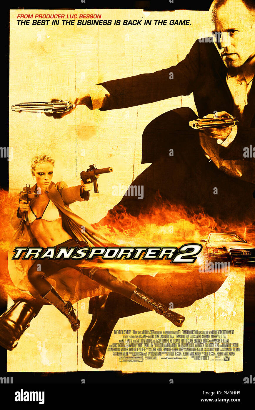 Poster Art from 'Transporter 2' Poster © 2005 20th Century Fox  File Reference # 30736107THA  For Editorial Use Only -  All Rights Reserved - Stock Image