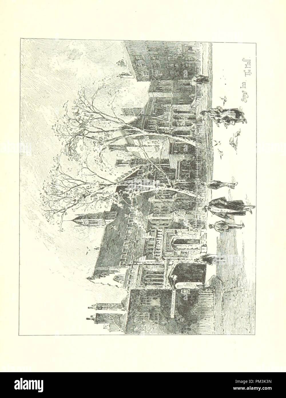 Image  from page 253 of 'The Inns of Court and Chancery . New edition' . - Stock Image
