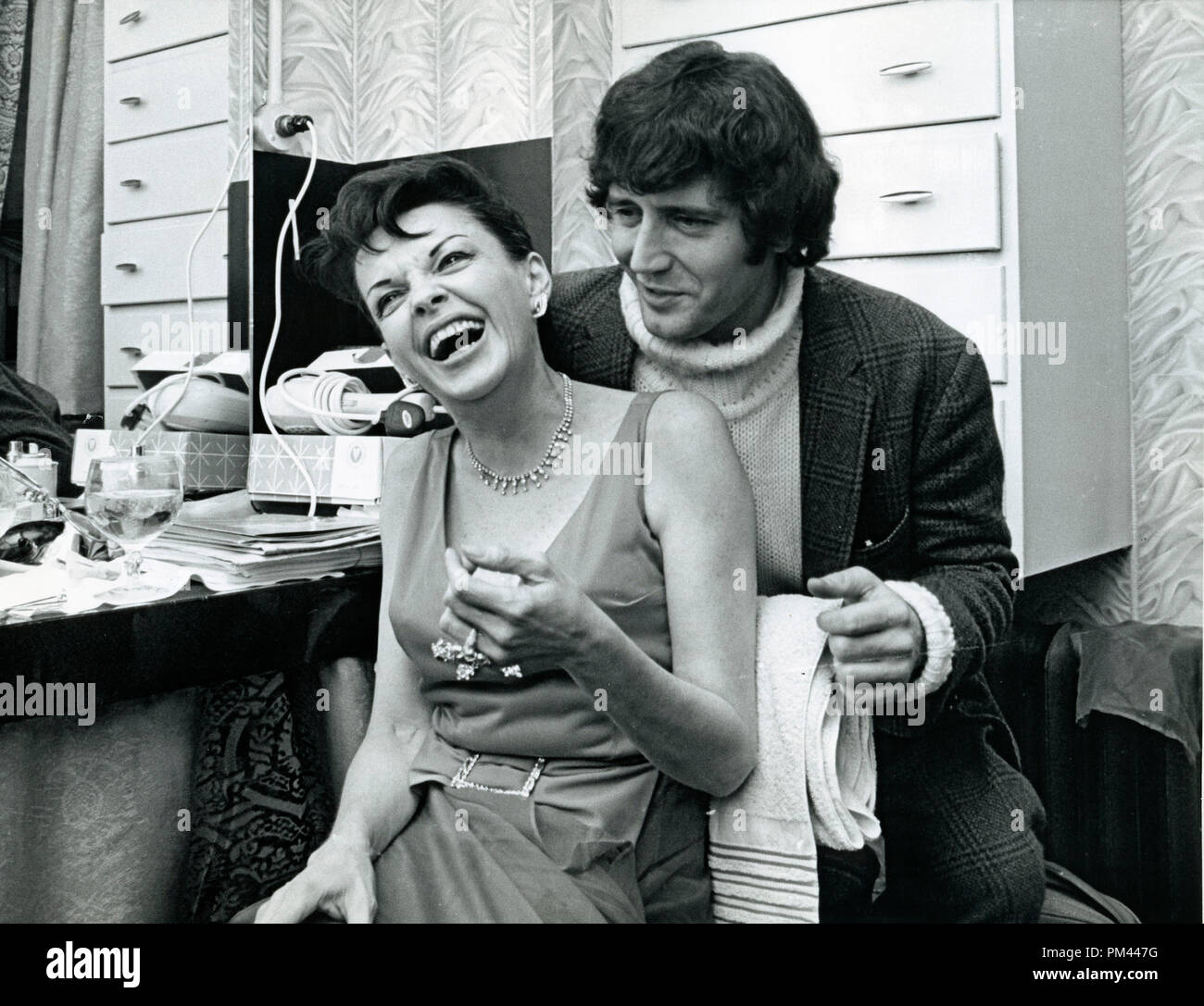 Judy Garland With Her Fifth Husband Mickey Deans After Her Talk Of The Town Caberet Performance January1969 File Reference 1017 001tha C Jrc The Hollywood Archive All Rights Reserved Stock Photo Alamy