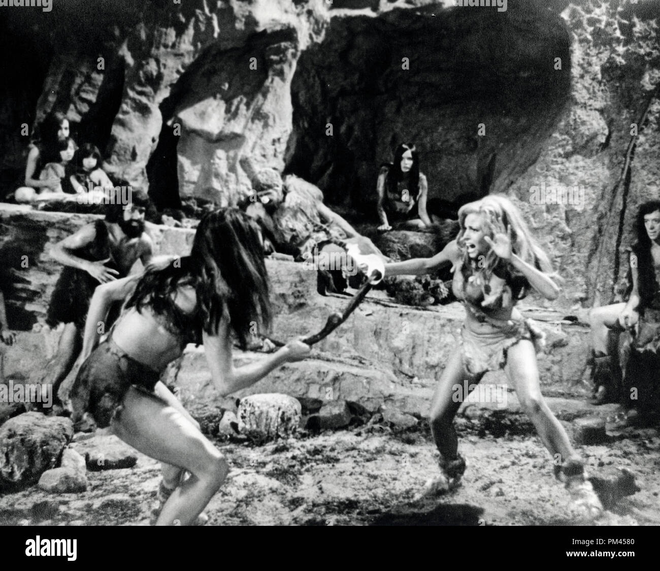 Raquel Welch 'One Million Years B. C. '1966 20th Century FoxFile Reference #1032_020THA - Stock Image