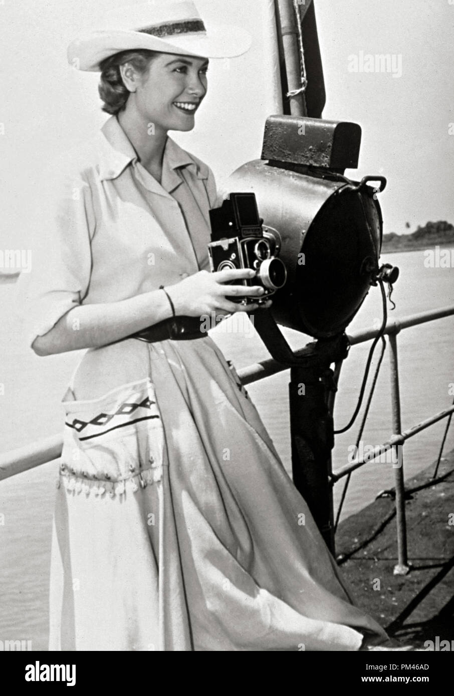 Grace Kelly, circa 1954. File Reference # 1061_050THA - Stock Image
