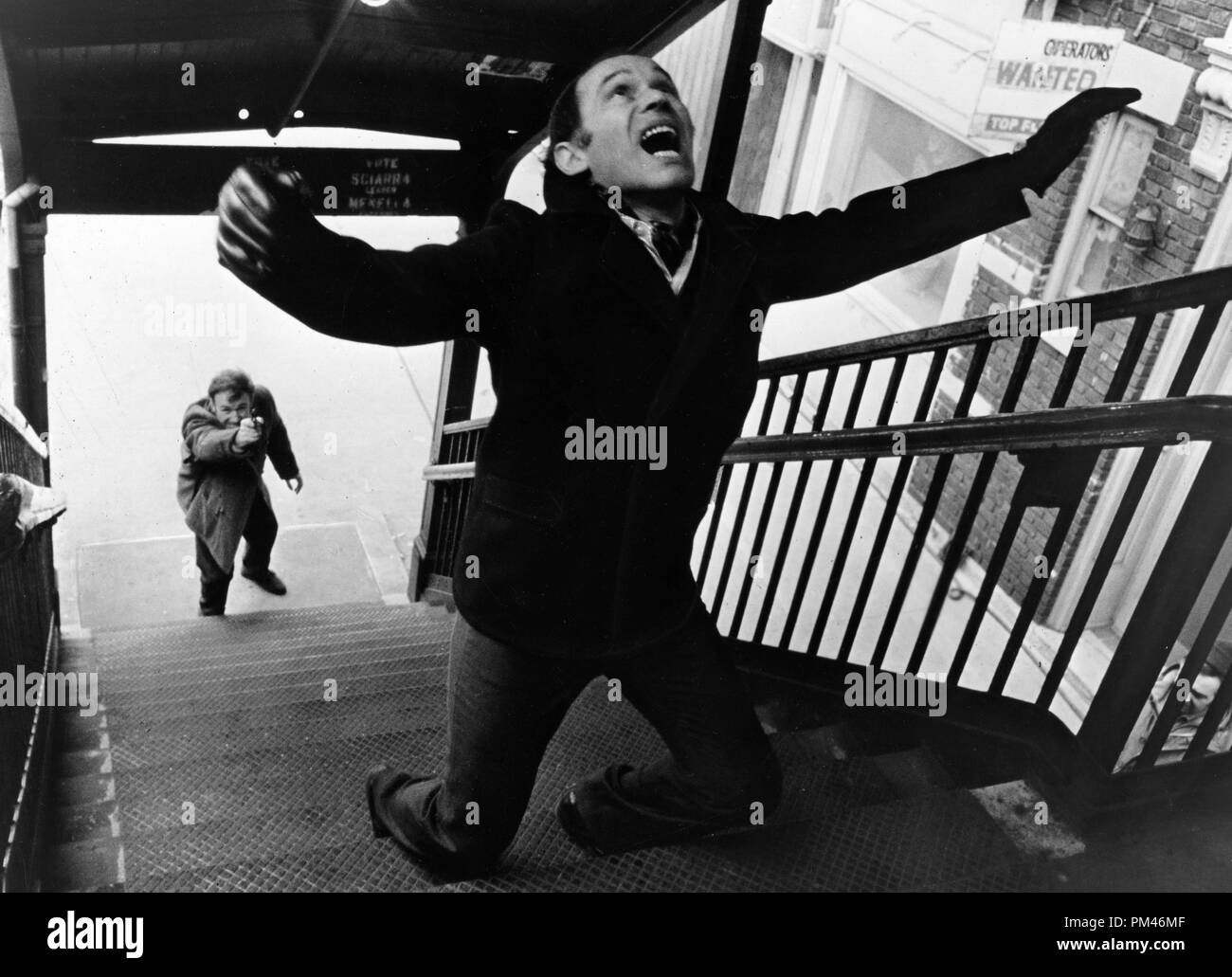 Gene Hackman 'The French Connection' 1971 20th Century Fox . File Reference #1076_016THA - Stock Image