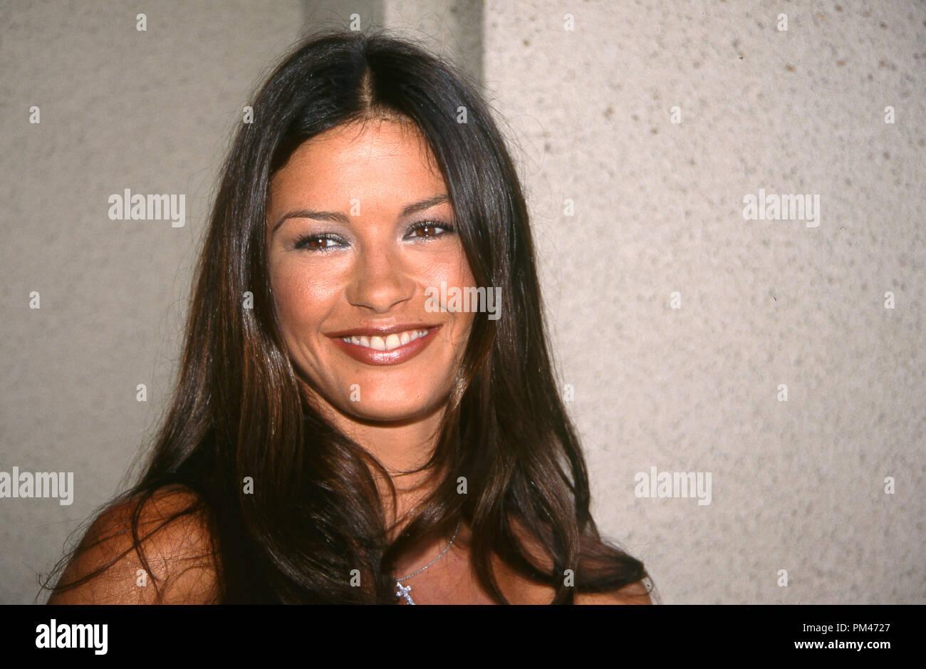 Catherine Zeta-Jones, July 19, 1999. File Reference # 1096_001JRC - Stock Image
