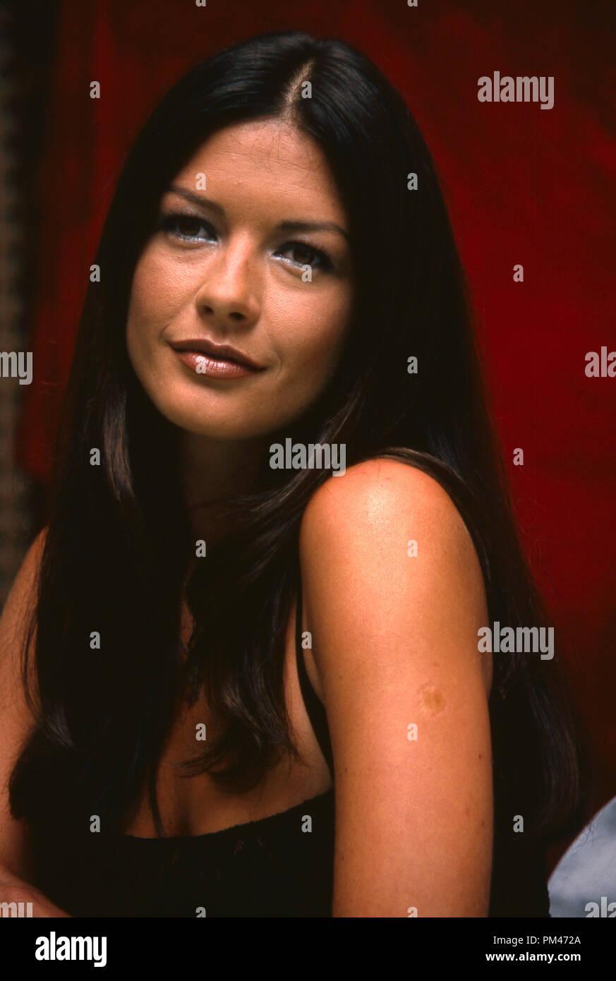 Catherine Zeta-Jones, July 19, 1999. File Reference # 1096_003JRC - Stock Image