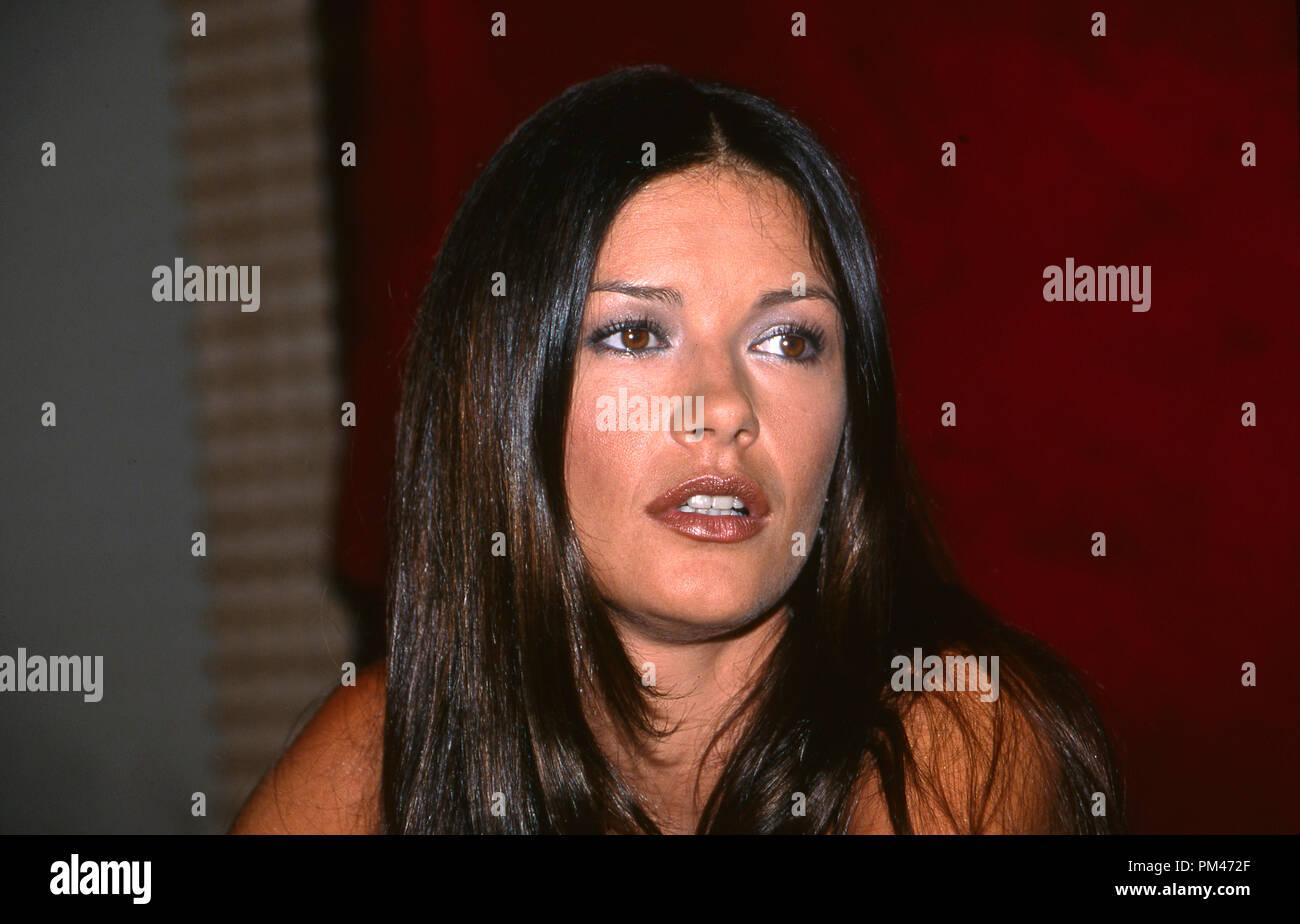 Catherine Zeta-Jones, July 19, 1999. File Reference # 1096_006JRC - Stock Image