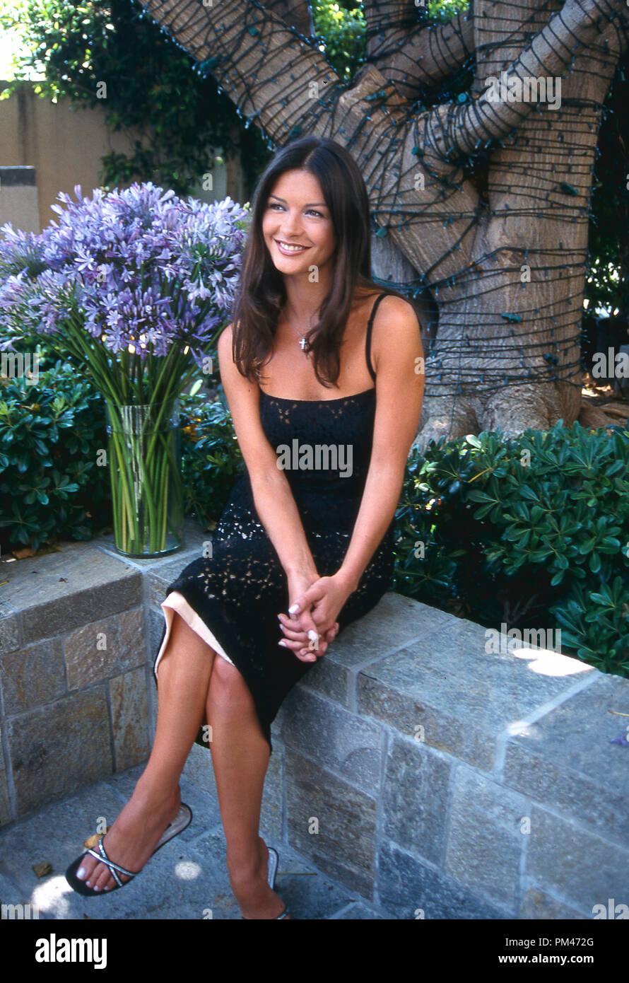 Catherine Zeta-Jones, July 19, 1999.  File Reference # 1096_007JRC - Stock Image