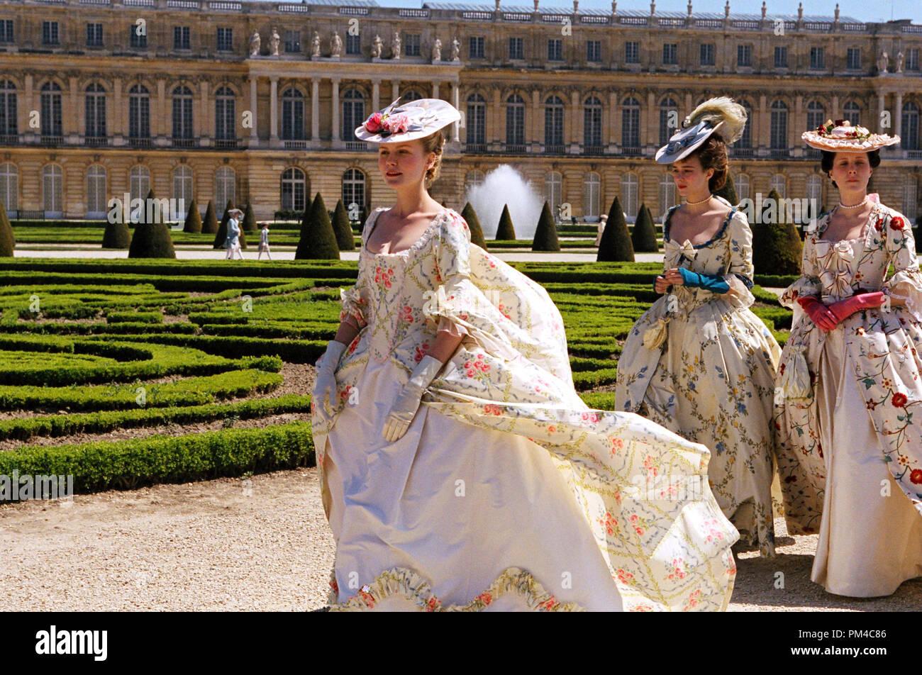 """Film Still from """"Marie Antoinette"""" Kirsten Dunst Stock Photo"""