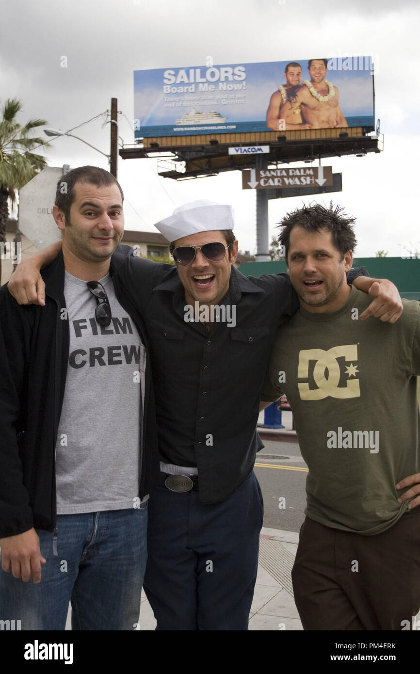 "Film Still / Publicity Still from ""Jackass Number Two"" Cinematographer Dimitry Elyashkevich, Johnny Knoxville,  Jeff Tremaine © 2006 Paramount Pictures Photo Credit: Sean Cliver File Reference # 30737998THA  For Editorial Use Only -  All Rights Reserved Stock Photo"
