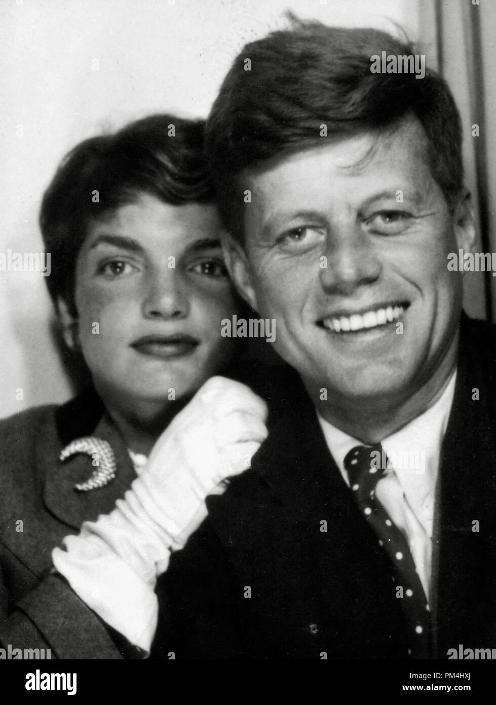 John F. Kennedy with his wife Jacqueline Kennedy ...