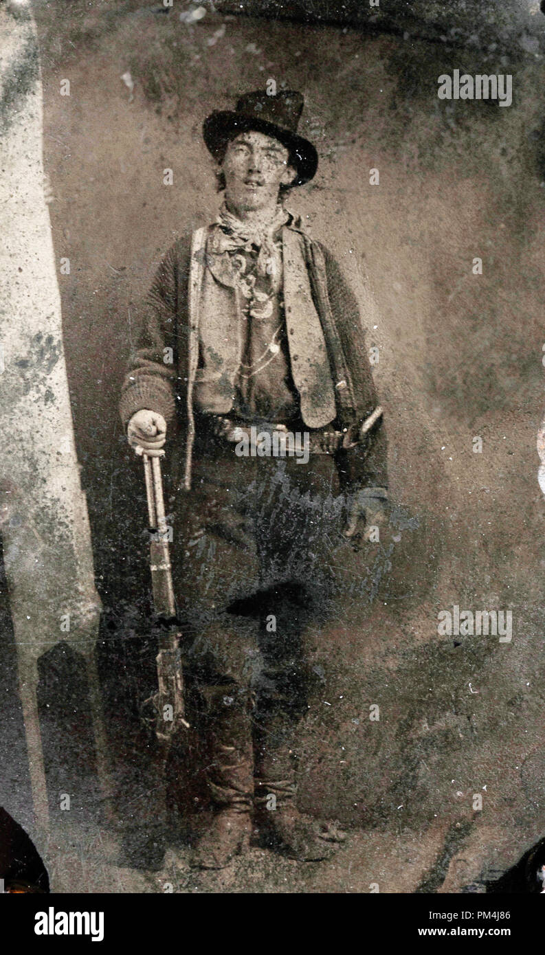 Billy the Kid (born Henry McCarty