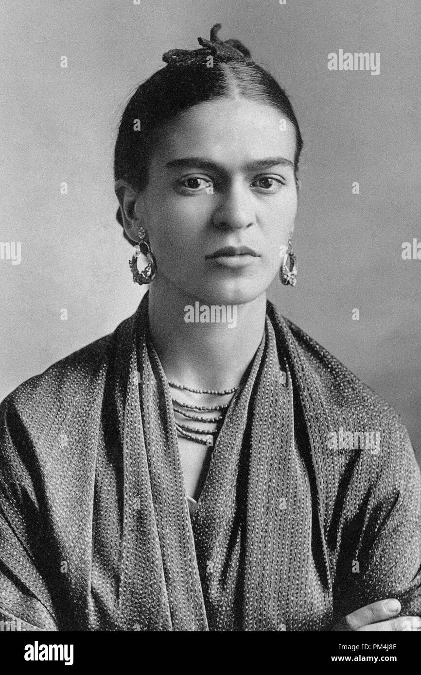 Mexican painter frida kahlo october16 1932 photo by guillermo kahlo file reference 1003 601tha