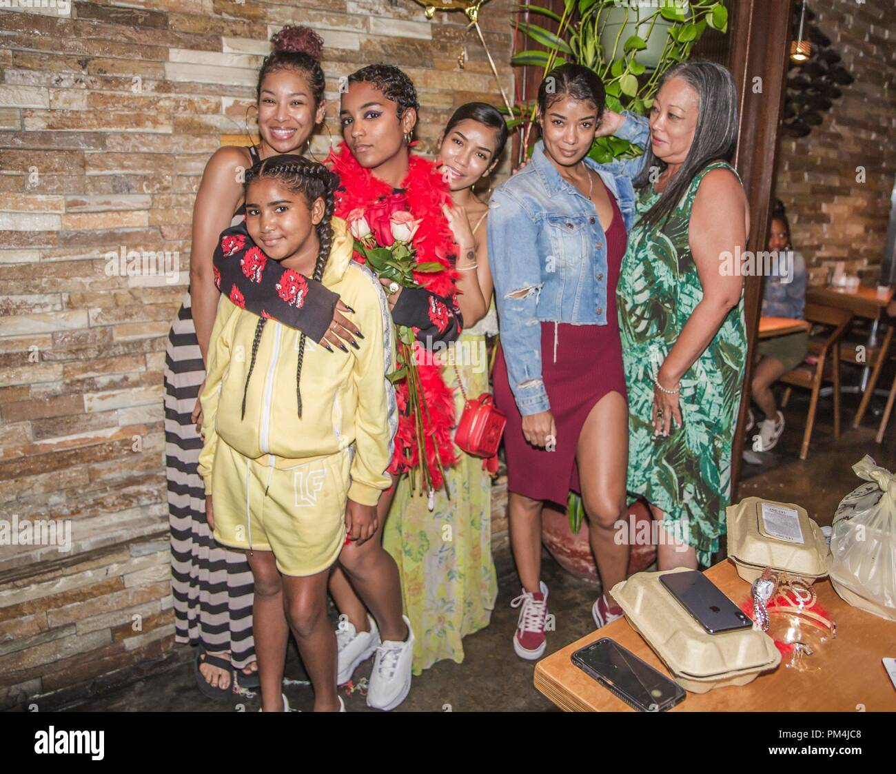 Singers Jhené Aiko And Mila J Celebrate Their Younger