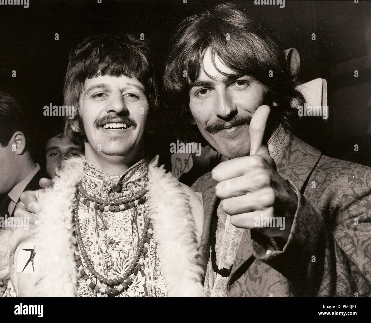 Beatles Ringo Starr And George Harrison 1967 File Reference 1013 002 Tha C Jrc The Hollywood Archive All Rights Reserved Stock Photo Alamy