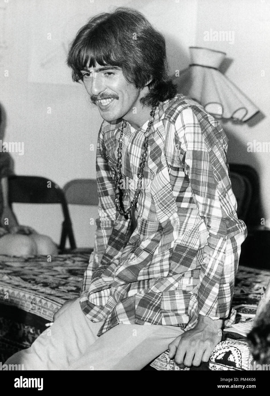 Beatle George Harrison, circa 1969. File Reference #1013_119 THA © JRC /The Hollywood Archive - All Rights Reserved. - Stock Image