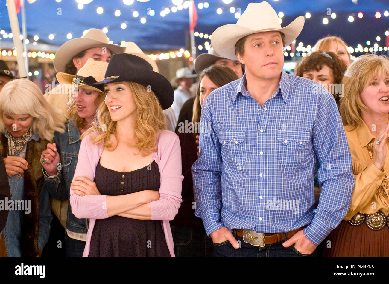 Sarah Jessica Parker and Hugh Grant star in Columbia Pictures' comedy DID YOU HEAR ABOUT THE MORGANS? - Stock Image