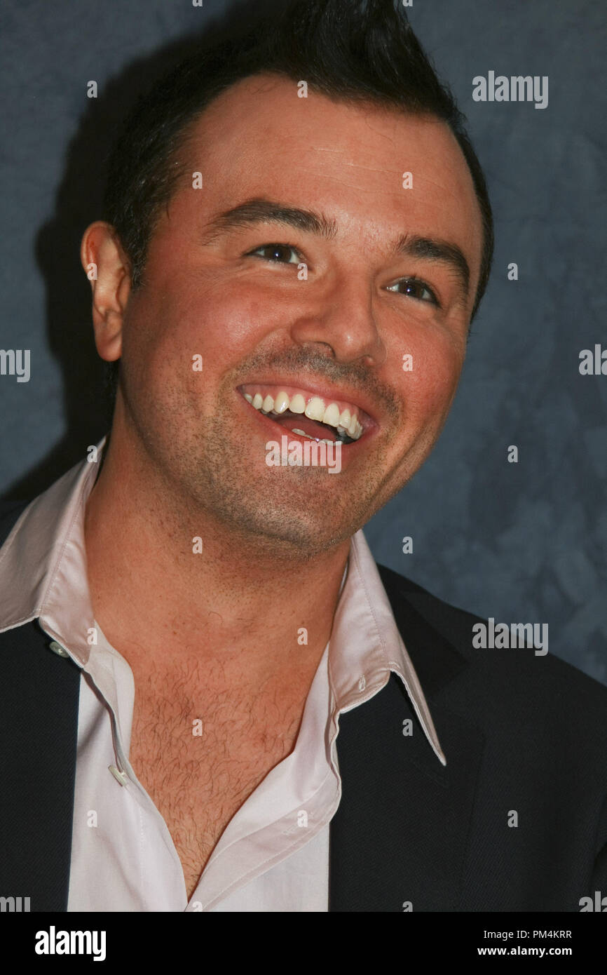 Seth MacFarlane 'The Family Guy'  Portrait Session, May 5, 2010.  Reproduction by American tabloids is absolutely forbidden. File Reference # 30242_007JRC  For Editorial Use Only -  All Rights Reserved - Stock Image