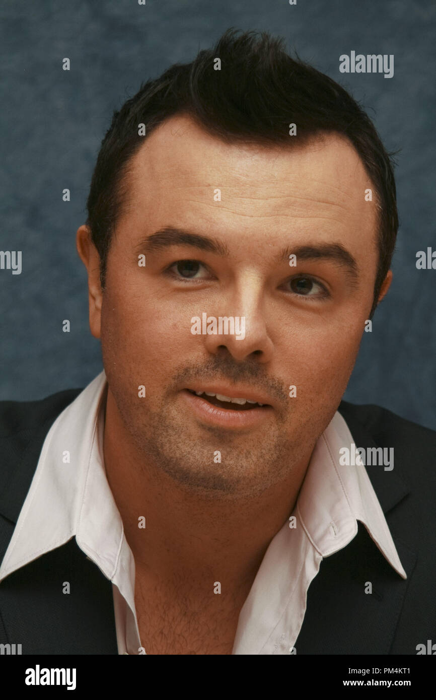 Seth MacFarlane 'The Family Guy'  Portrait Session, May 5, 2010.  Reproduction by American tabloids is absolutely forbidden. File Reference # 30242_011JRC  For Editorial Use Only -  All Rights Reserved - Stock Image
