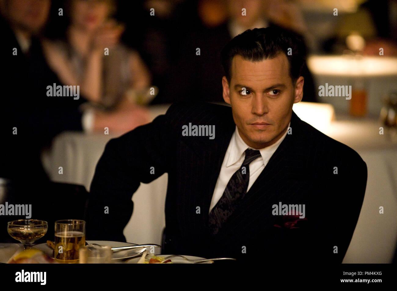 'Public Enemies' Johnny Depp - Stock Image