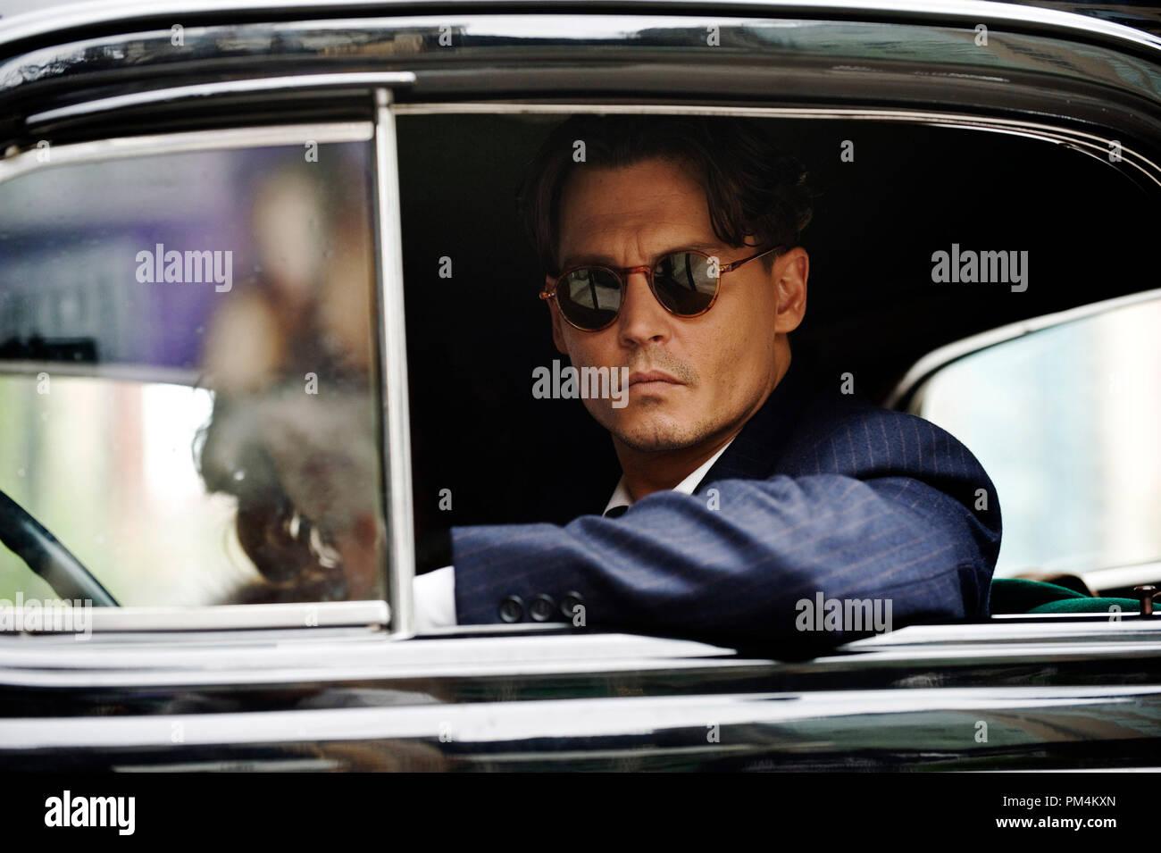 Public Enemies Johnny Depp - Stock Image