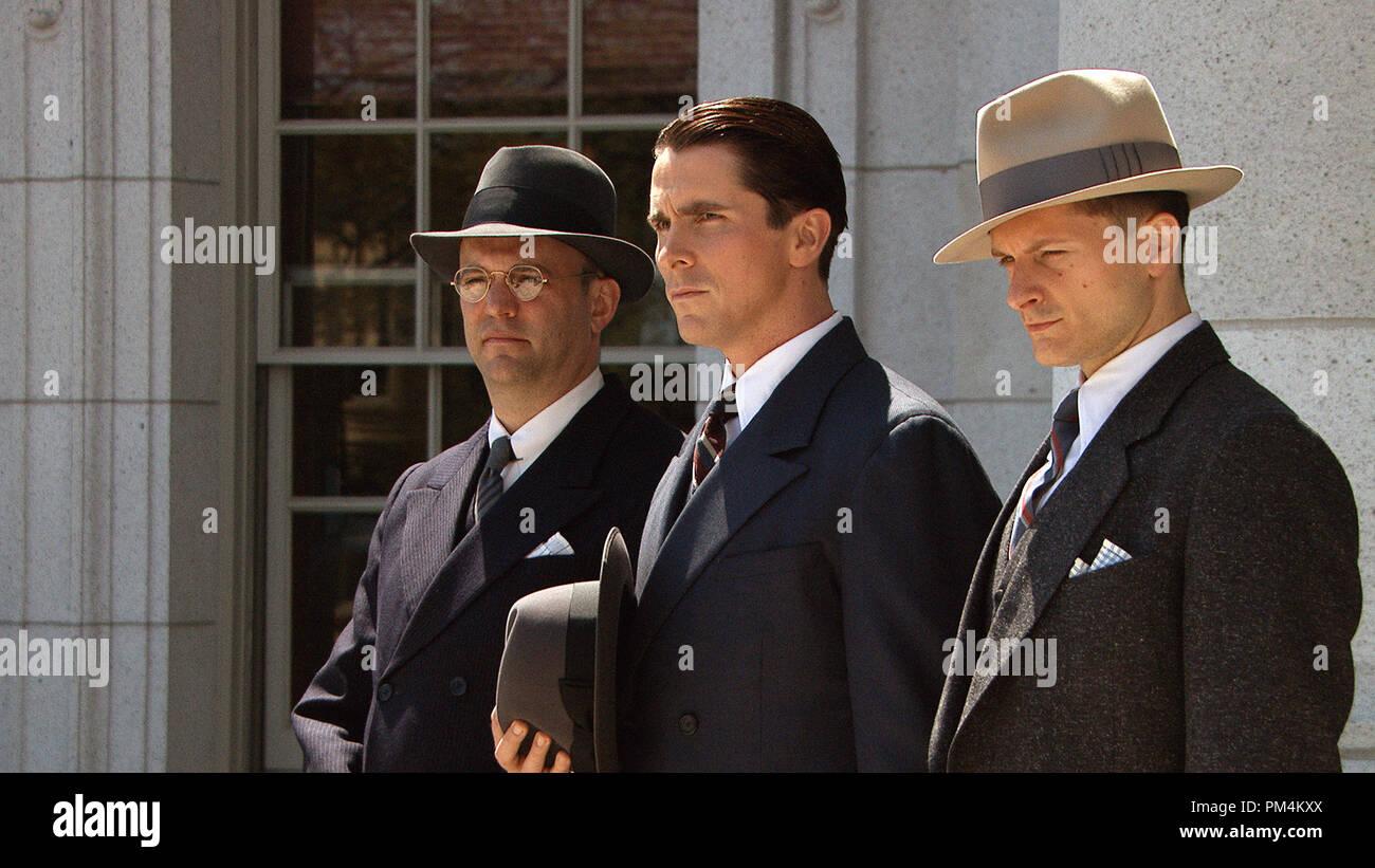 'Public Enemies' Christian Bale - Stock Image