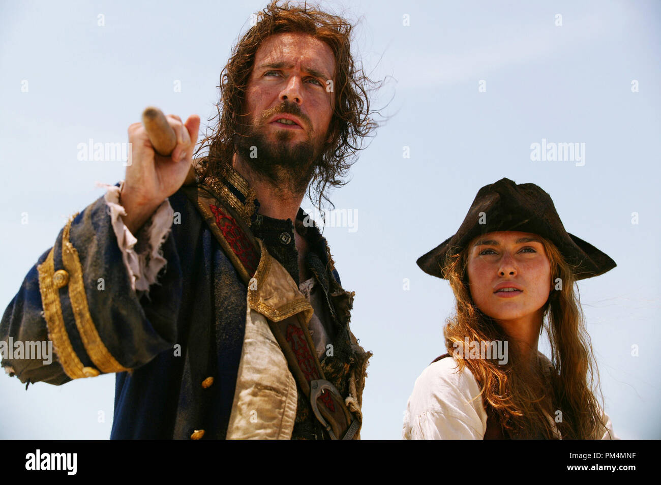 Walt Disney Pictures Presents 'Pirates of the Caribbean: Dead Man's Chest'  Jack Davenport, Keira Knightley - Stock Image