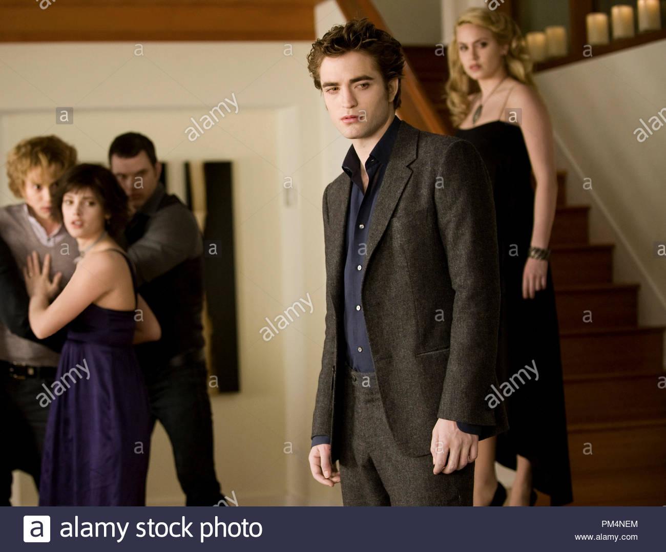 ROBERT PATTINSON stars as Edward Cullen, KRISTEN STEWART