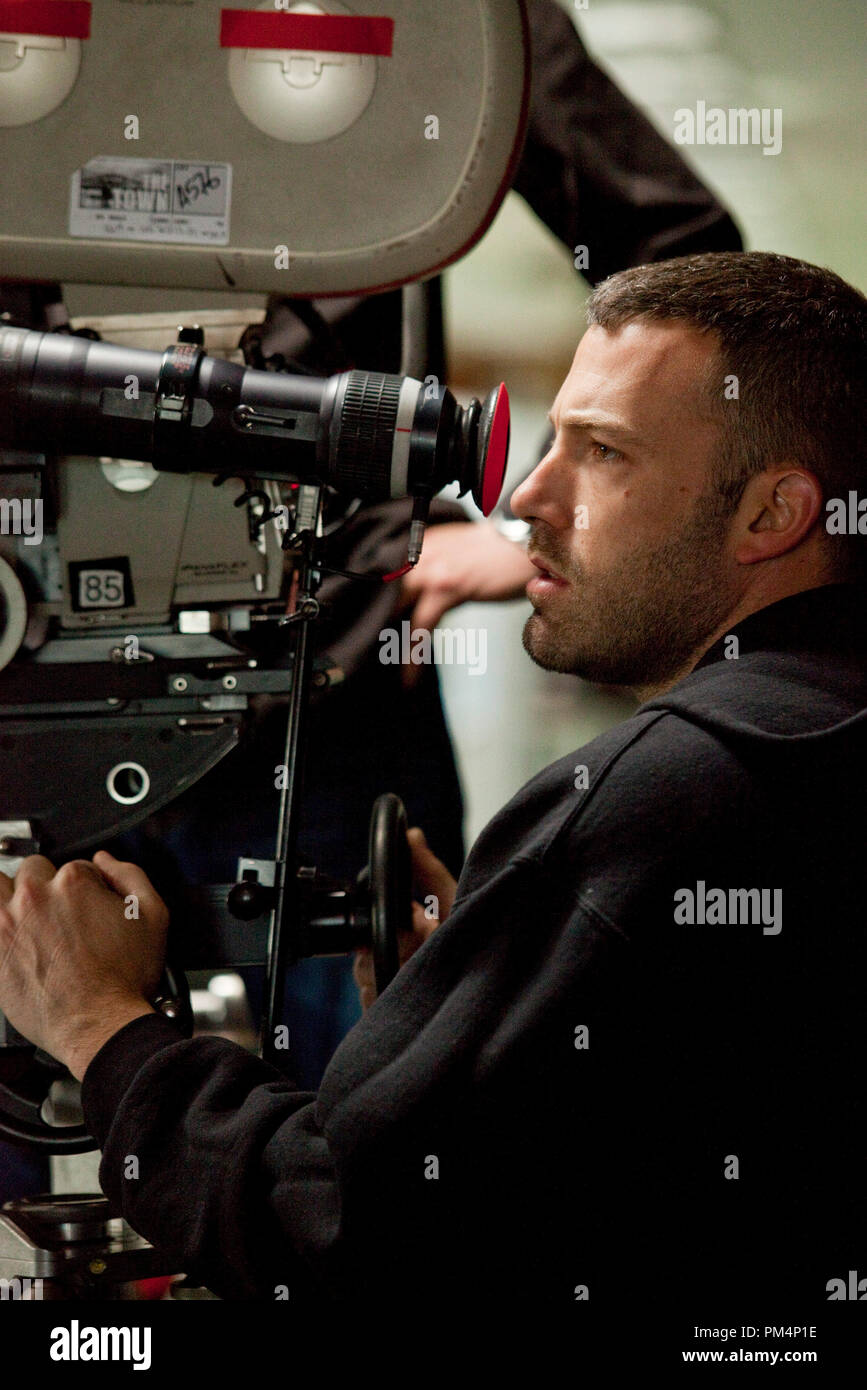 Director/Screenwriter/Actor BEN AFFLECK on location during the