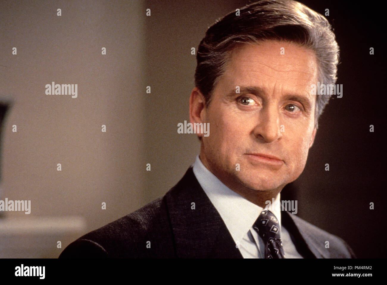 'The American President' 1995 Michael Douglas - Stock Image