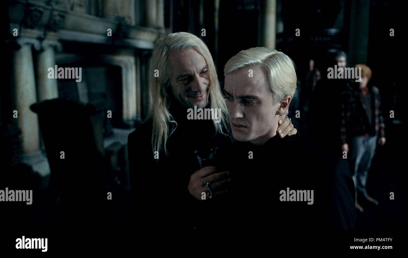 harry potter lucius malfoy und bellatrix lestrange