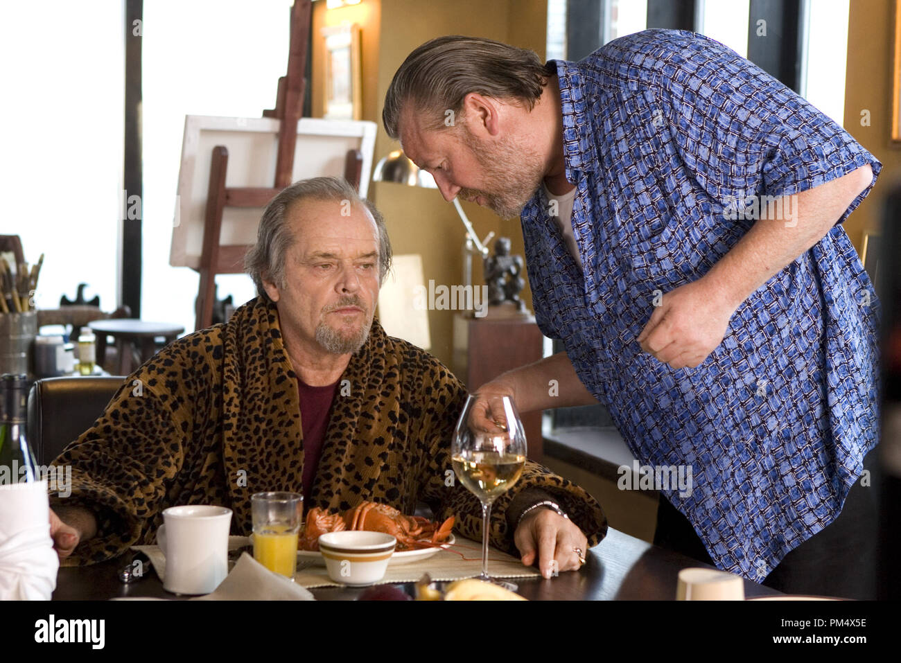 """Studio Publicity Still from """"The Departed"""" Jack Nicholson, Ray Winstone © 2006 Warner Photo credit: Andrew Cooper   File Reference # 307372355THA  For Editorial Use Only -  All Rights Reserved Stock Photo"""